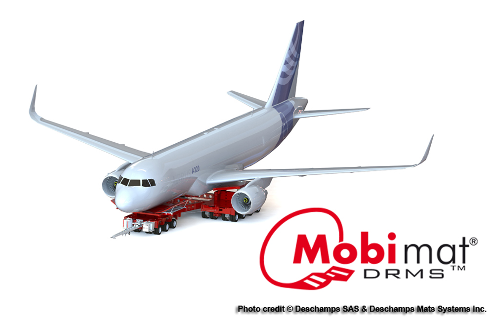 Mobi-Mat Aircraft Recovery Moving Systems