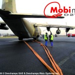 Mobi-Mat Aircraft Recovery Tethering and Towing