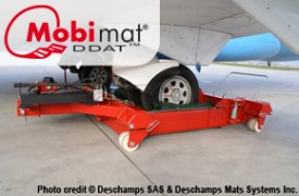 Mobi-Mat Aircraft Recovery Dollies and Turntable