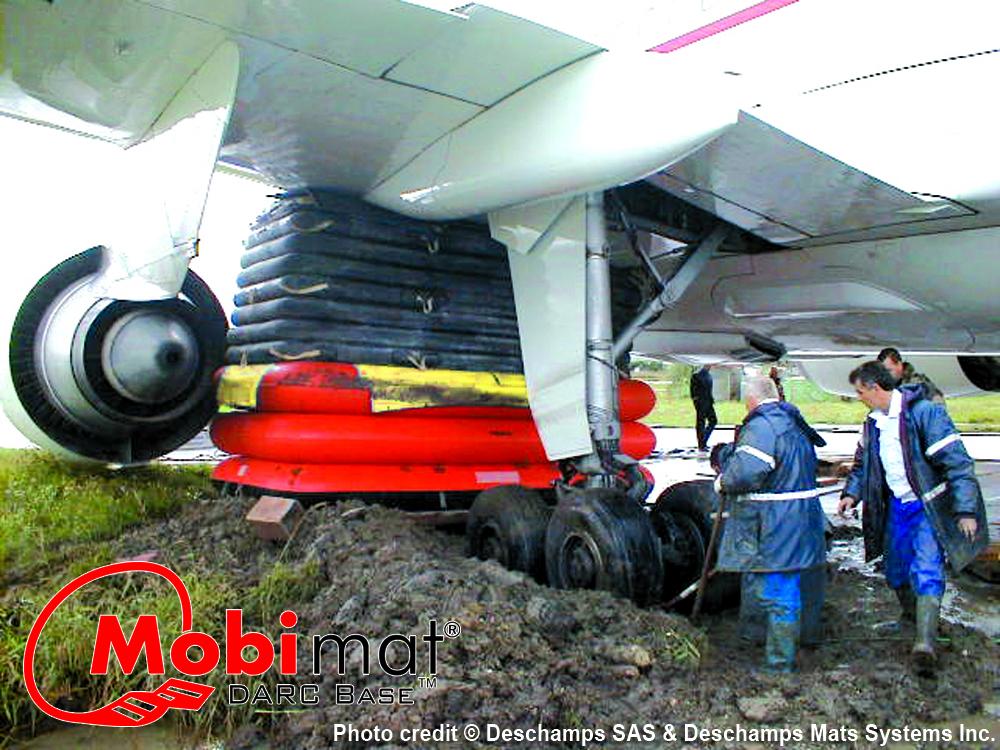 Mobi-Mat Aircraft Recovery Cushions Base