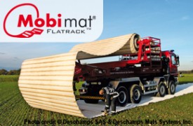 Mobi-Mat Aircraft Recovery Flatrack Dispenser