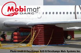 Mobi-Mat Aircraft Recovery Cushions